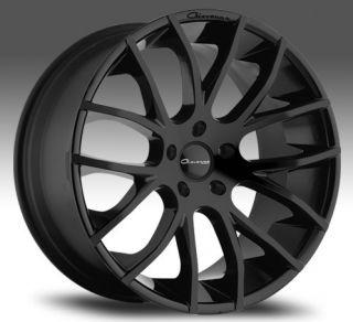Giovanna Kilis Wheels Mercedes S550 CL550 Rims Staggered Black