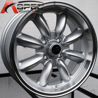 17x7 5 Rota RB Wheels 4x114 3 Rim 4mm Datsun 240 260