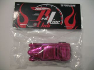Hot Wheels 2006 Convention Pink 36 Ford Coupe Party Car 1 500 Treasure