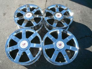 22 cadillac escalade new chrome rims wheels 2012 factory oem nice