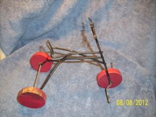 Tricycle Trike 3 Wooden Vintage Wheels Doll House Collectables
