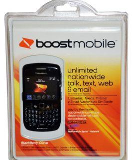 Blackberry Curve 8530 Black Boost Mobile Smartphone