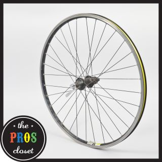 M510 Rear Mountain Bike Wheel // 26 Mavic X225 Rim 9 Speed Clincher