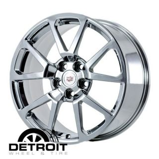 cts V CTSV Sedan 19 Chrome Wheels PVD Rims Exchange 4648 4650