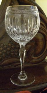 Marquis Goblet Wine Water Glass Hanover Balloon Gold Rim Stemmed Glass