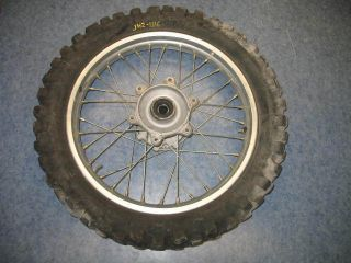 Rear Wheel Tire Hub Rim 2001 Honda XR650R XR650 R 01
