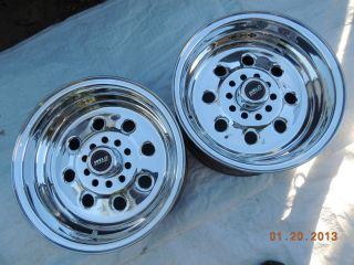 WELD DRAGLITE RACING WHEELS 15x8 FORD CHEVY DODGE PLYMOUTH CAMARO DRAG