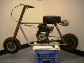 Steens Frijole Minibike,Engine,Wheels, with original drum brake, forks