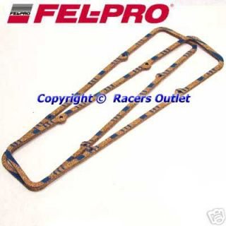 FEL Pro 1604 Steel Core Valve Cover Gaskets SB Chevy 265 283 305 327