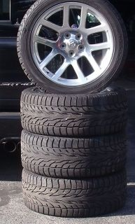 1500 VIPER SRT10 SRT 10 OEM WHEELS TIRES PACKAGE SET 305 40 R22 MOPAR