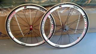 American Classic 420 Aero 3 Road Wheel Set Used