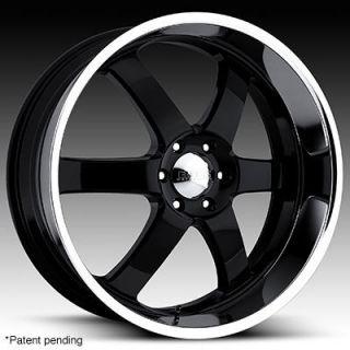 22 x9 Boss 330 3302 Black Wheels Rims 5 6 8 Lug