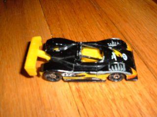 Hot Wheels Black Yellow Ferrari 333 SP Vintage Toy Car
