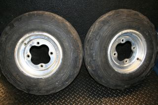 Honda TRX300EX 300EX 400EX Front Wheels Rim Tires
