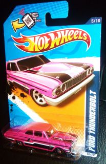 Hot Wheels   Pink Ford Thunderbolt   2012 HTF