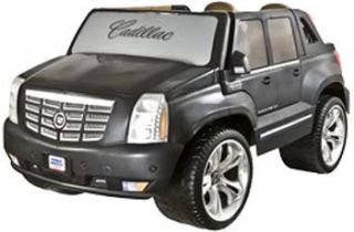 Fisher Price Power Wheels Cadillac Escalade Ride on Toy Black