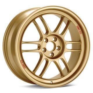17 Enkei Gold RPF1 Racing Wheel Rim 17 x 8 45mm 5x100