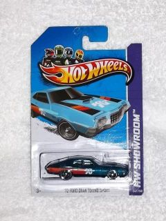Hot Wheels Super Treasure Hunt 72 Ford Gran Torino Sport 2013 TH