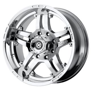 18x8 American Racing ATX Artillery Chrome Wheel Rim s 5x150 5 150 18 8