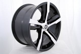 19 STERN ST 4 WARP BLACK RIMS WHEELS CHRYSLER 300 RWD DODGE CHALLENGER