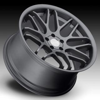 20 New Gun Metal Staggered Wheels Rim Nissan 350Z 370Z Infiniti G35
