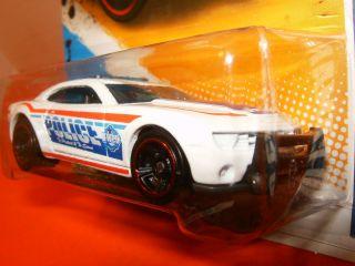 Hot Wheels Police 2010 Chevrolet Chevy Camaro SS HWPD 1 10 131 247