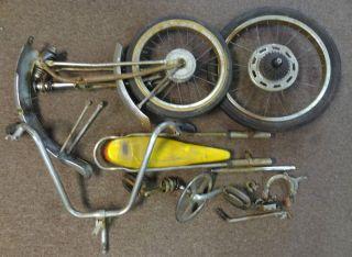 Schwinn Vintage Stingray Krate Wheels Tires Fork Bars Crank Sissy