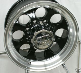 16 inch ion Alloy 171 Ford F 250 350 Black Wheels Rims