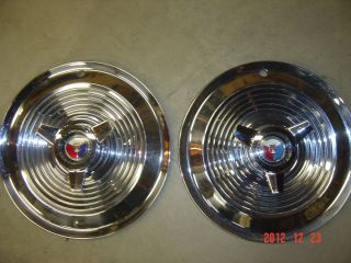 Galaxie Spinner Wheel Cover Hub Cap Polished Looks 390 406 427