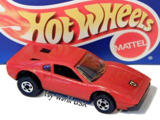 1995 Hot Wheels Ferrari 308 GTB 5 Pack Exclusive in Red Plastic Body