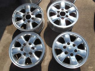 16 Toyota Tacoma 4Runner Polished Wheels Rims