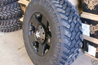18 XD Rockstar Black Nitto Trail Grappler 295 70 18 35