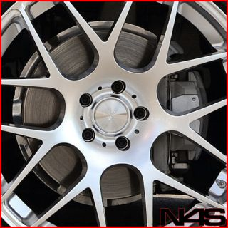 M3 Sedan Avant Garde M310 Concave Silver Staggered Wheels Rims