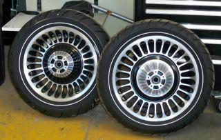 Harley Davidson Dunlop D407 D408F Wheels Brand New
