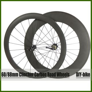 Rear Clincher Carbon Fiber Wheels 700c Carbon Roda Bike Wheels