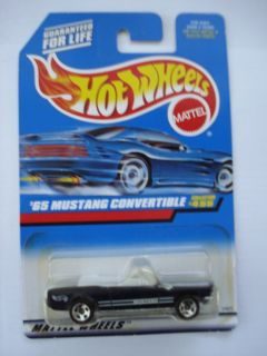 Hot Wheels 1997 65 Mustang Convertible