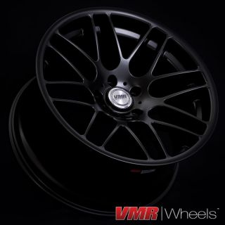 inch Matte Black VB3 CSL Wheels BMW E90 E92 3 Series 328 335