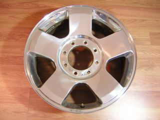 F250 F350 SUPERDUTY 20 ALLOY WHEEL RIM OEM 3644 TAKEOFF WITH 5 MILES