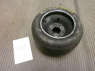 Go Kart Black Wheel and Dunlop Tire 11 x 5 00 6