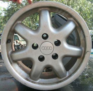 99 00 Audi A4 16 Alloy Wheel 16x7 7 Spoke Rim Factory A4 Rim