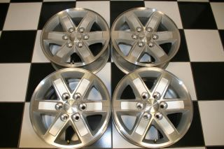 1500 Sierra Denali Yukon XL Factory 17 Wheels Rims 5296 Set 4
