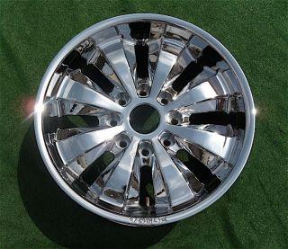 Vogue Apex Chrome 20 inch Hummer H2 8 Lug Wheel Rim GM