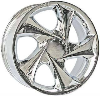 18 Chrome Center Cap Rim Wheel Calli 403 Fast SHIP