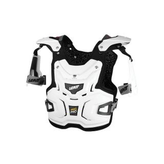 Leatt Chest Protector Adventure Pro Adult White Racing Body Armor