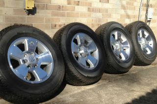 2013 Toyota Tacoma Wheels and Tires