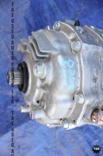 2012 Mitsubishi Lancer Evolution x GSR Mr Transfer Case Tcase 3K evox