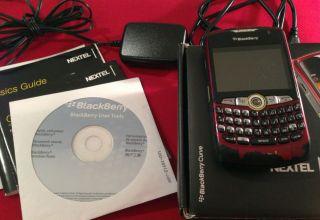 Nextel Sprint Blackberry Curve 8350i Smartphone Direct Connect