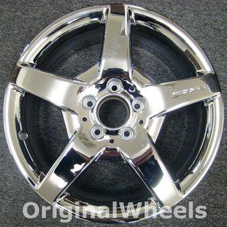 Chrome AMG Mercedes CLK500 Wheel 5 Spoke Rim H 65355 MPN A1714011402
