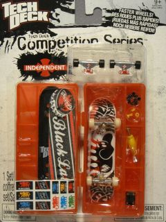 Tech Deck Competition Series Black Label Shuriken Shannon Fingerboard
