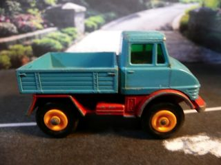 Matchbox Lesney Series No 49 Mercedes Unimog